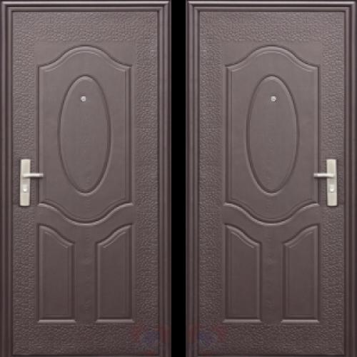 Увеличить - Дверь металлическая серия эконом, модель Е40