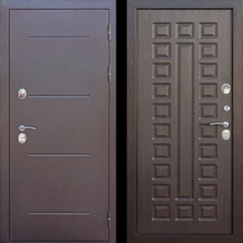 Увеличить - Входная дверь c ТЕРМОРАЗРЫВОМ 11 см Isoterma медный антик Венге