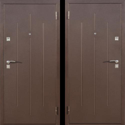 Увеличить - Дверь Эконом Стройгост 7-2 Металл/Металл