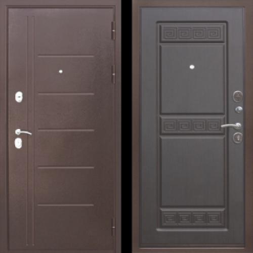 Увеличить - Входная дверь 10 см Троя Антик Венге