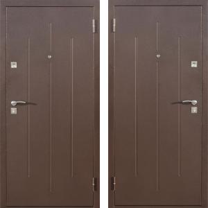 Дверь Эконом Стройгост 7-2 Металл/Металл