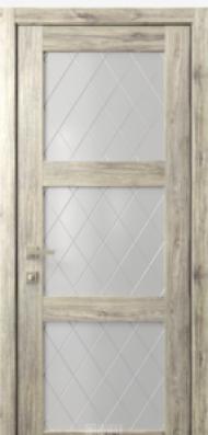 Кантри 6, стекло Ромбы