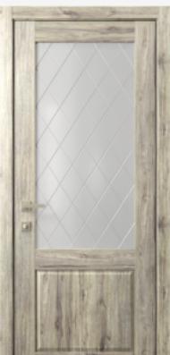 Кантри 2, стекло Ромбы