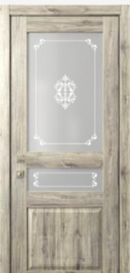 Кантри 4, стекло Грация