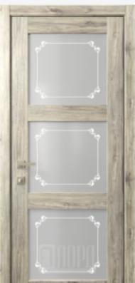 Кантри 6, стекло Грация