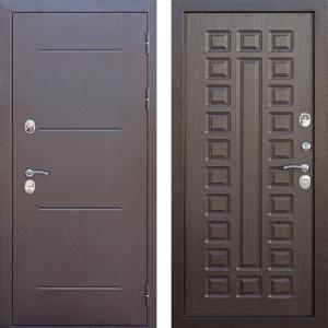 Входная дверь c ТЕРМОРАЗРЫВОМ 11 см Isoterma медный антик Венге