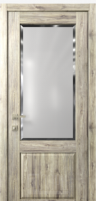 Кантри 2, стекло Фацет