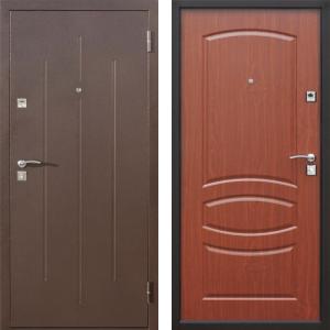 Дверь входная металлическая Стройгост 7-2 Итальянский Орех
