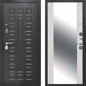 Входная дверь 12 см СЕНАТОР ЗЕРКАЛО (Венге/Дуб сонома)