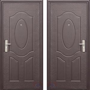 Дверь металлическая серия эконом, модель Е40
